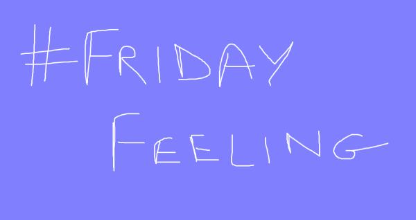 #FridayFeeling banner