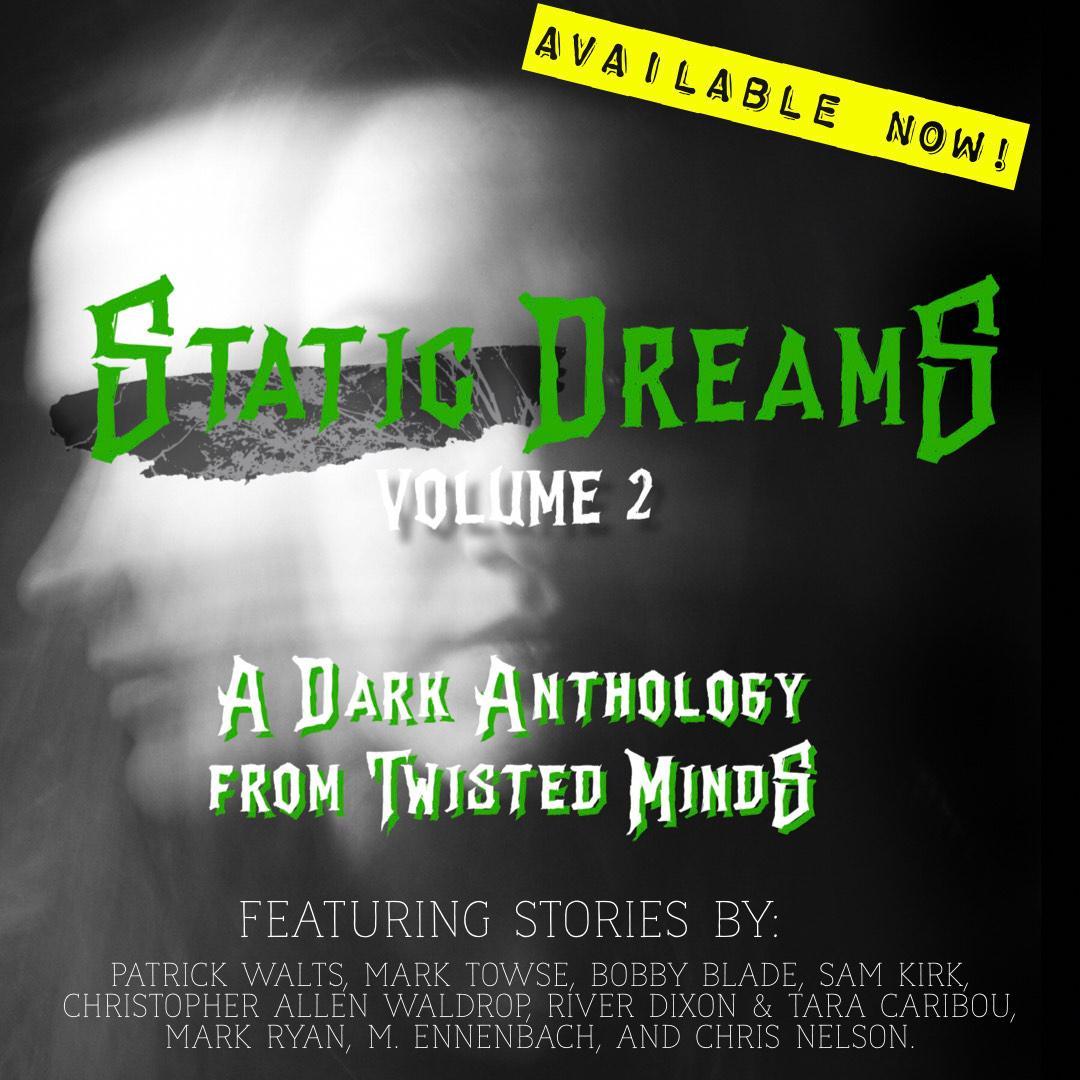 Static Dreams vol. 2 cover