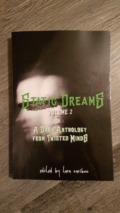 A cover of an anthology with my story.