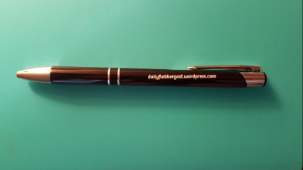 A pen with website name