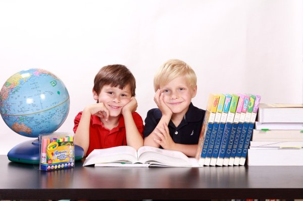 Studying boys
