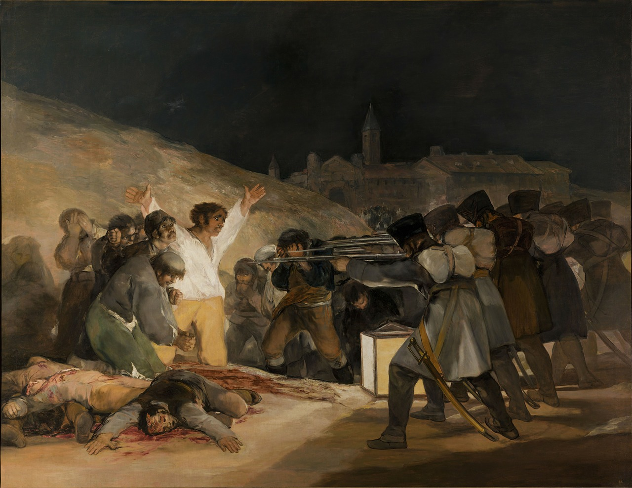 """The Third of May"" - painting by Goya"