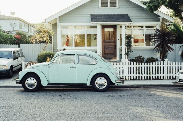 Home and a beetle